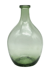 Vintage Reproduction Glass Bottle, Green (Pickup Only)