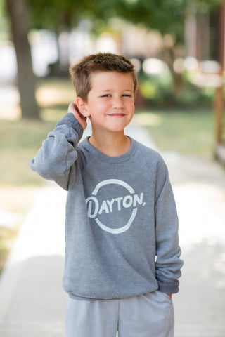 Dayton, O Grey Youth Sweatshirt