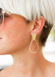 MB Kaia Gold Hoops