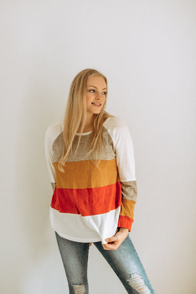 Charlie ColorBlock Top