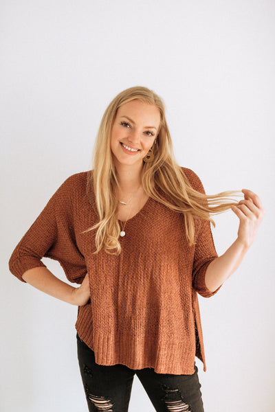 Idalia Clay Sweater