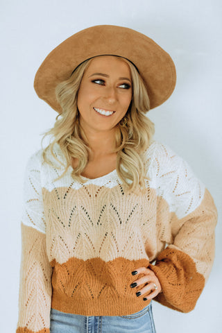 Crunchy Leaves Sweater