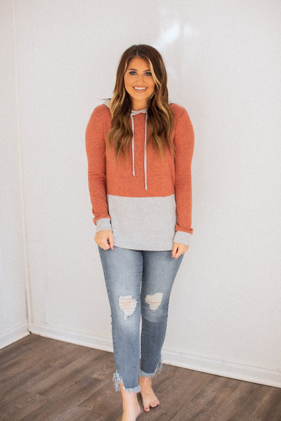 Stacey Hooded Everyday Top