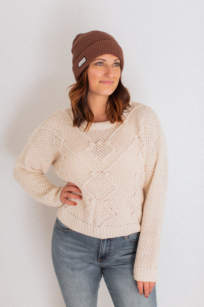 Linford Ivory Sweater