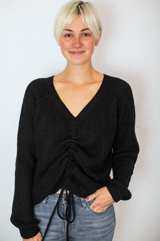 Lauren Black Cinch Sweater