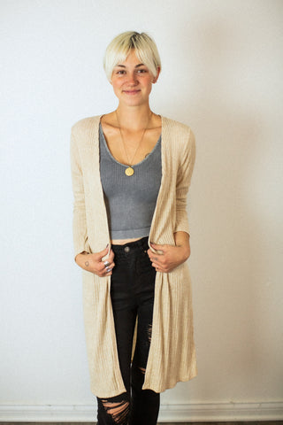 For the Love Oat Cardigan