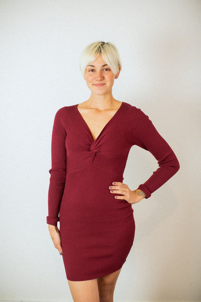 Lovers Deep Red Dress