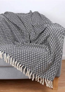 Diamond Cotton Throw