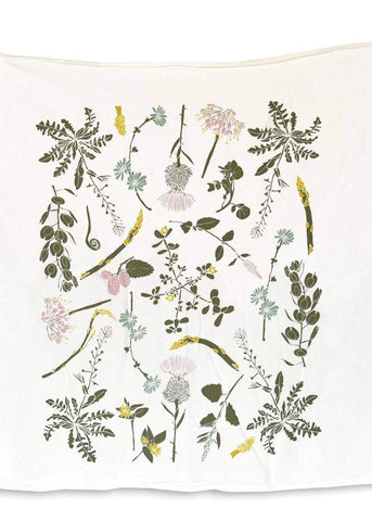 Edible Wilds Tea Towel