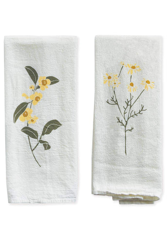 Tea + Chamomile Napkin Set