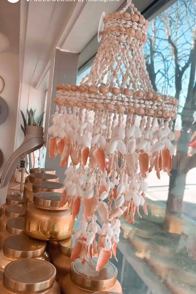 Shell Tier Hanging Decor