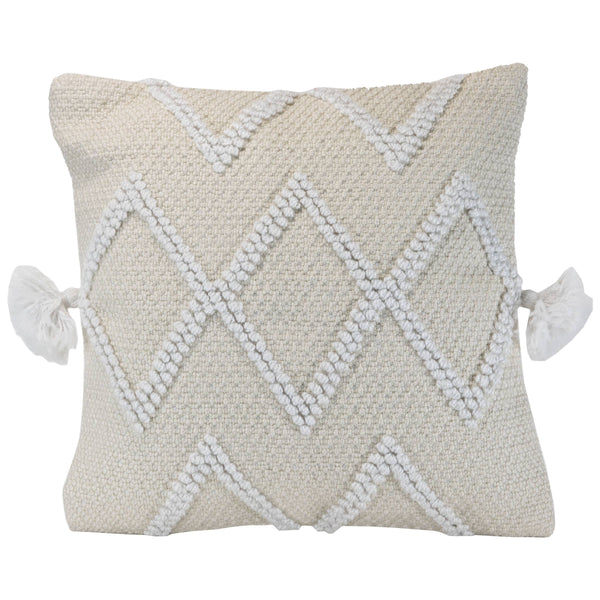 Cole Cream Pillow