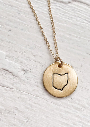Ohio Dainty Necklace