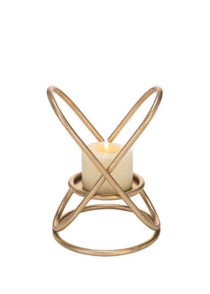 Orbiting Ring Candle Holder