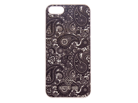 IPHONE B&W PAISLEY CASE