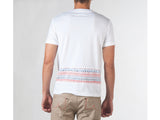 IKAT POCKET AND BACK PRINT TEE