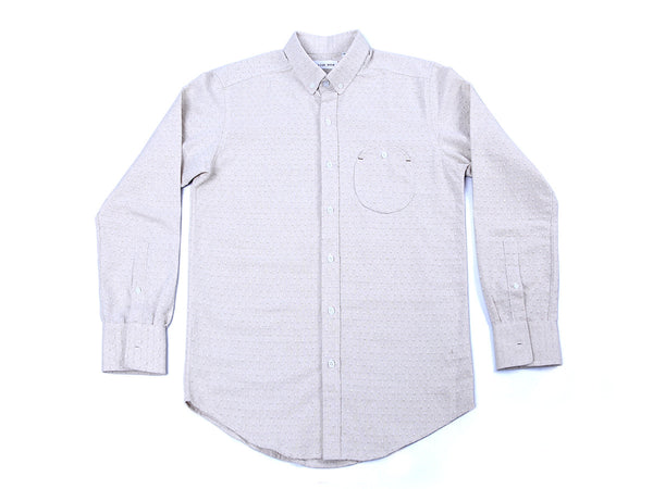 LONG SLEEVE DIAMOND WHITE POLO