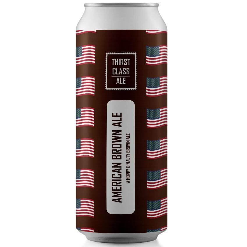 American Brown Ale 440ml - Thirst Class Ale
