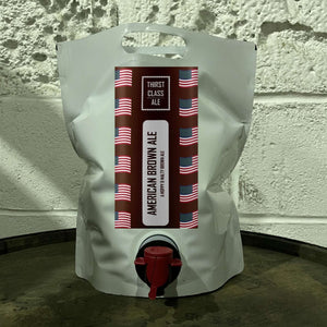 American Brown Ale Foil Pouch 3 Litres - Thirst Class Ale