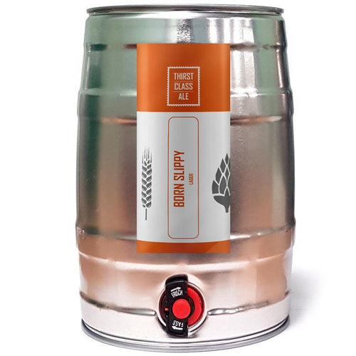 Born Slippy Lager Mini Keg - Thirst Class Ale