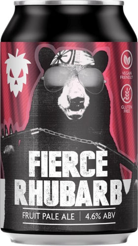 Fierce Rhubarb Fruit Pale Ale 330ml - Thirst Class Ale