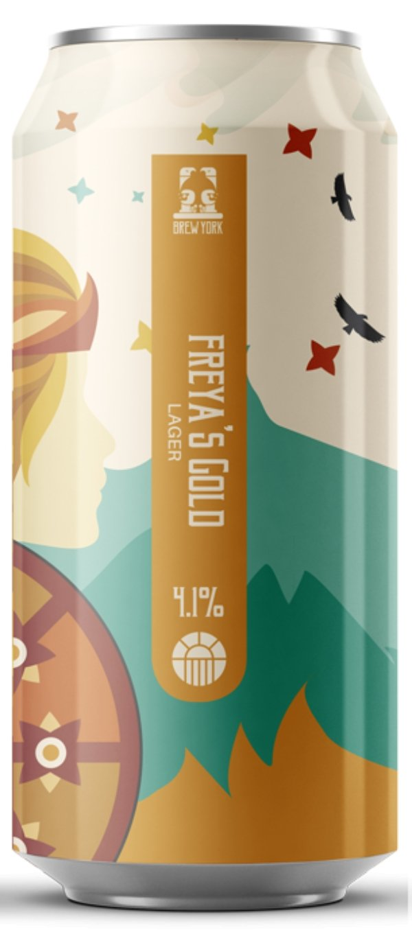 Freya's Gold 440ml - Thirst Class Ale