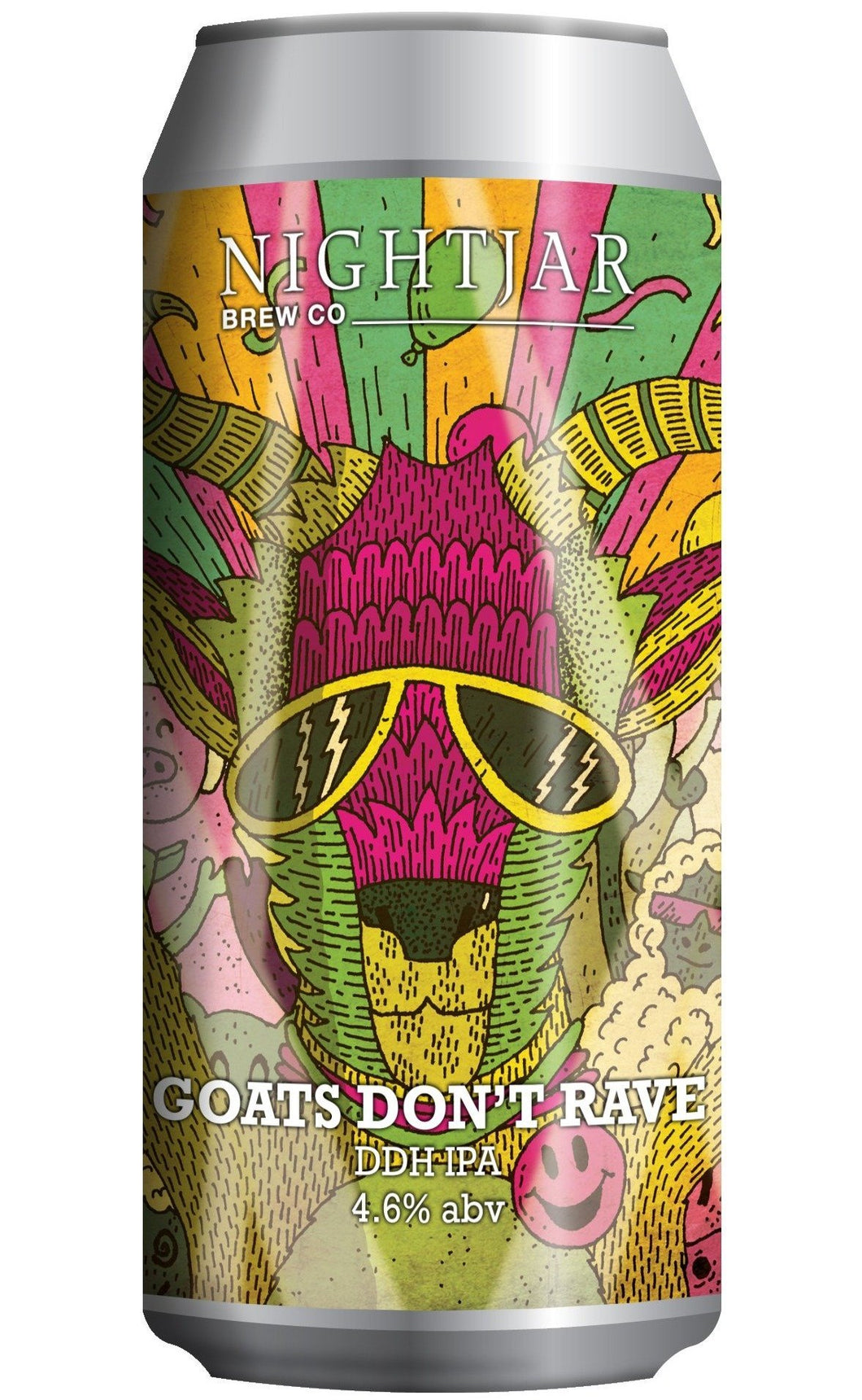 Goats Don't Rave DDH IPA 440ml - Thirst Class Ale