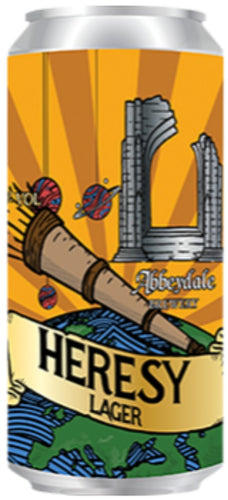 Heresy Lager 440ml - Thirst Class Ale