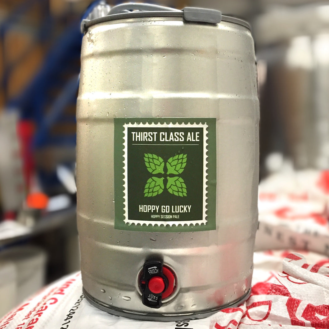 Hoppy Go Lucky 5L Mini Keg