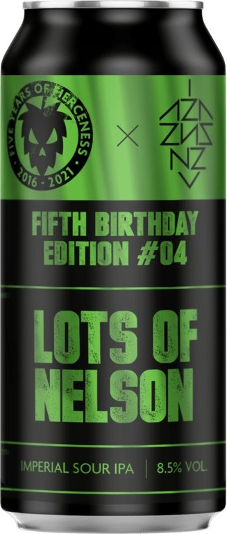 Lots of Nelson Imperial Sour IPA 440ml - Thirst Class Ale