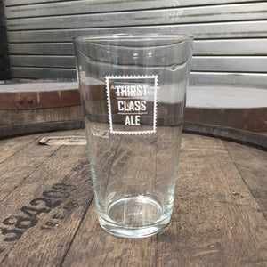 Thirst Class Ale Pint Glass - Thirst Class Ale