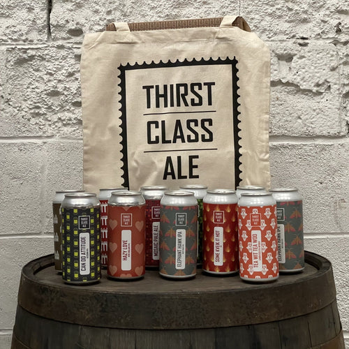 Tote Bag of Craft Ale Gift - Thirst Class Ale