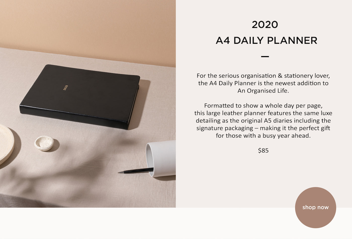 An Organised Life - A4 Diary - Planner - Paper Plane - Mt Maunganui Stockist