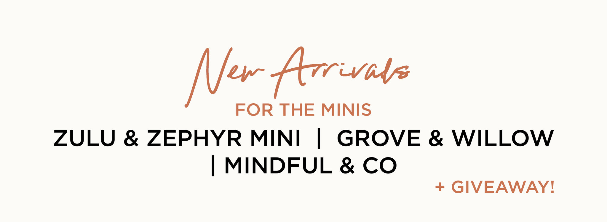 Paper Plane - New Arrivals - For the minis - Plus Giveaway