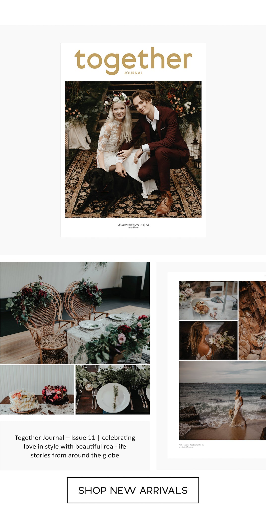 Together Journal - Issue 11 - Wedding Magazine - Paper Plane Store