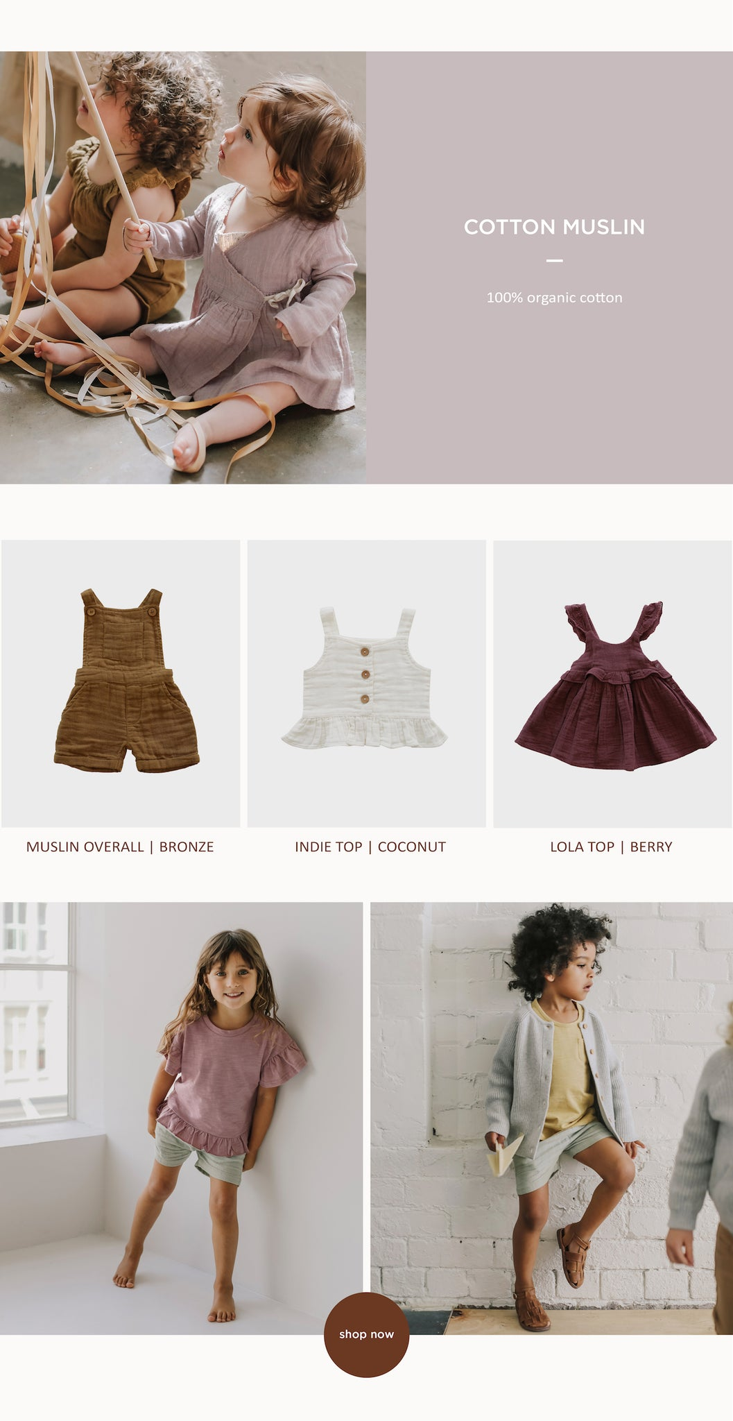 Jamie Kay – Azalea Collection – Children's Clothing – Paper Plane – Mount Maunganui Stockist – Online now