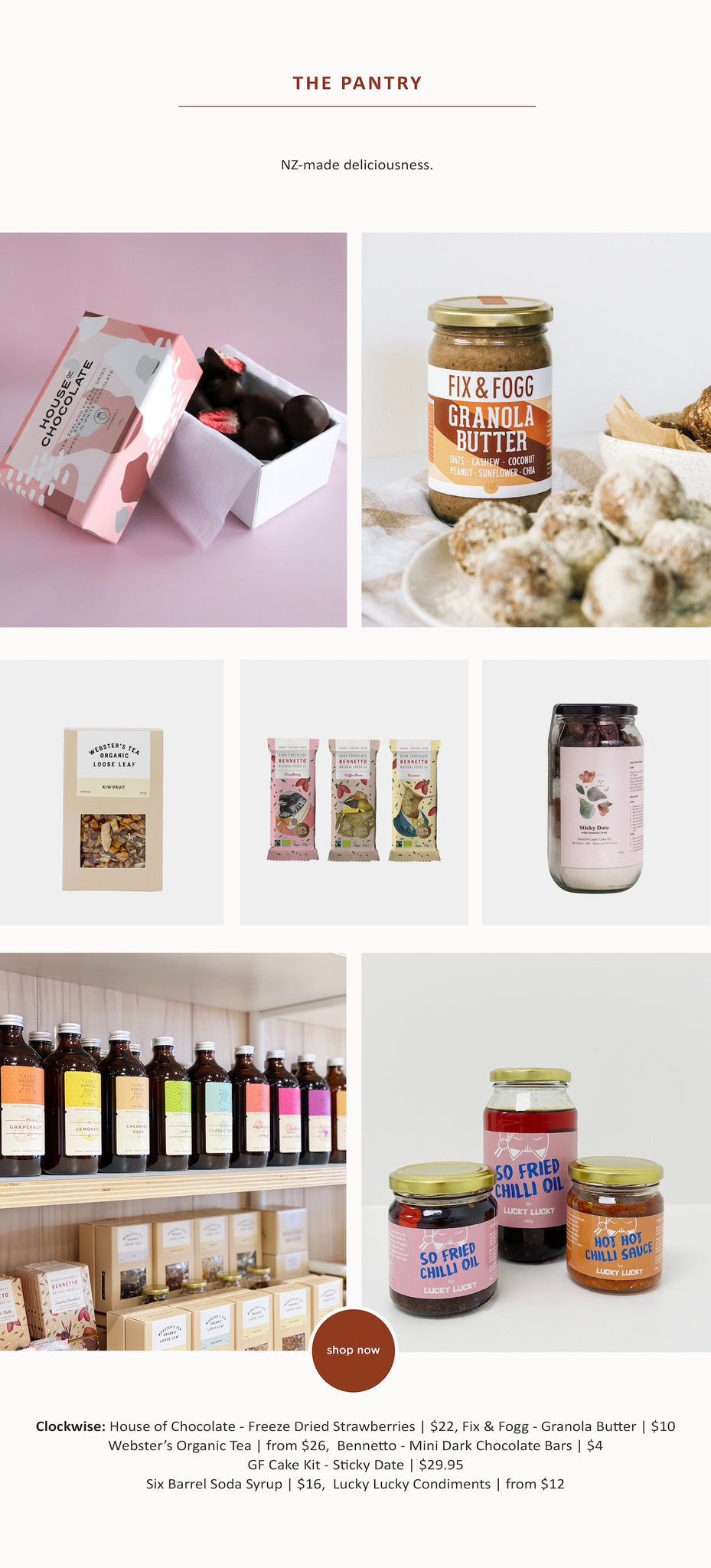 Proudly NZ Made – Pantry - Paper Plane Store