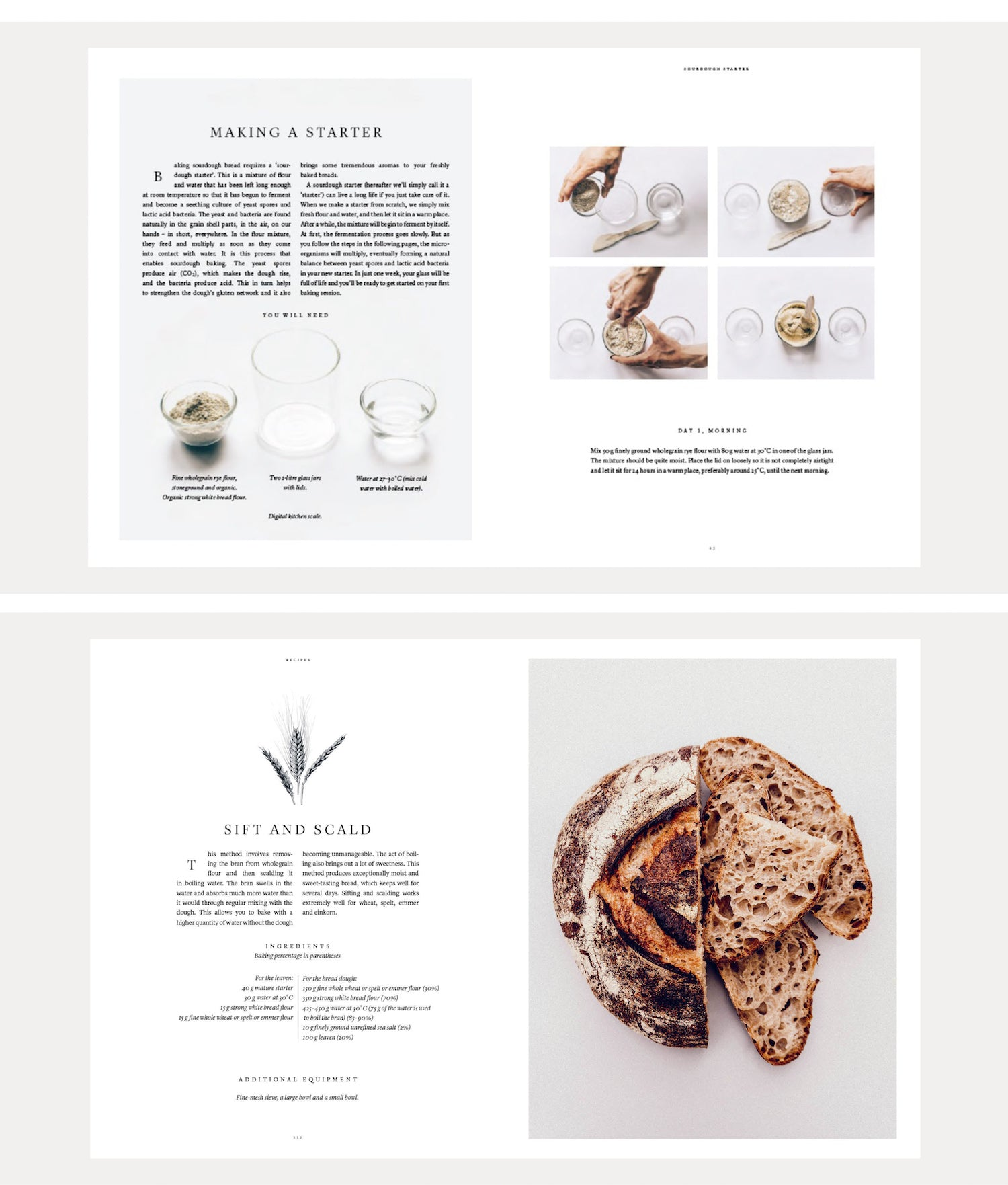 Paper Plane Store - Sourdough - Cookbook