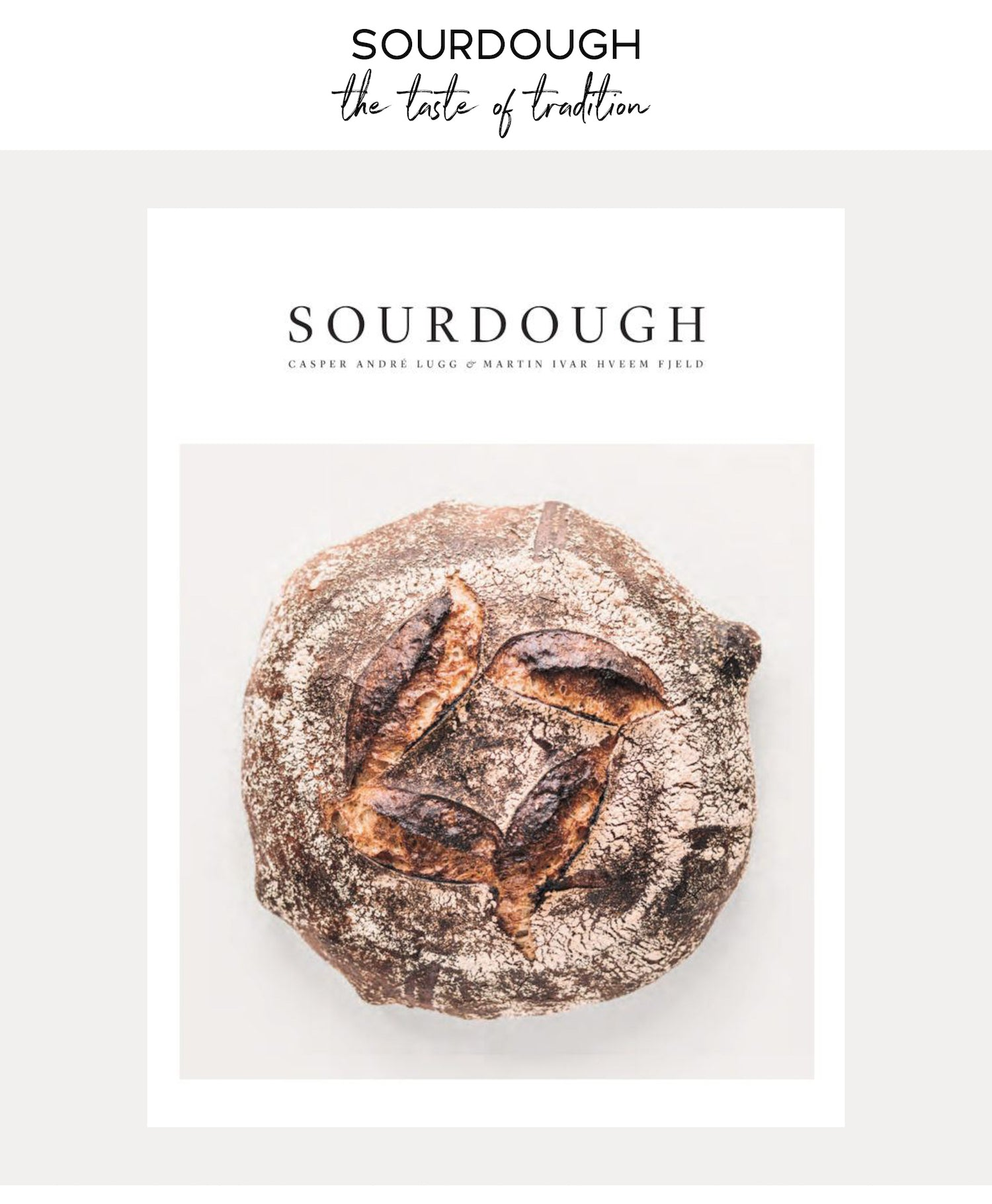 Paper Plane Store - Sourdough Cookbook