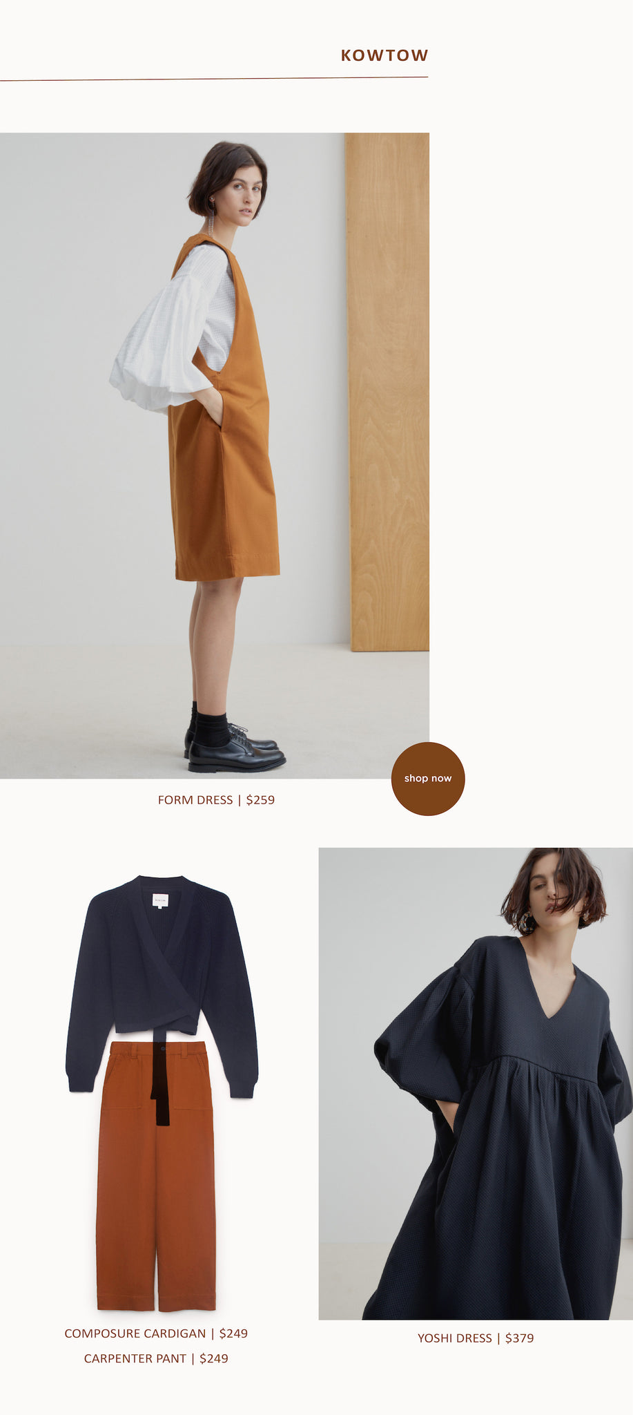 Paper Plane - Wardrobe Update - Kowtow - Elk - Velvet Canyon - In Store Now - Mount Maunganui
