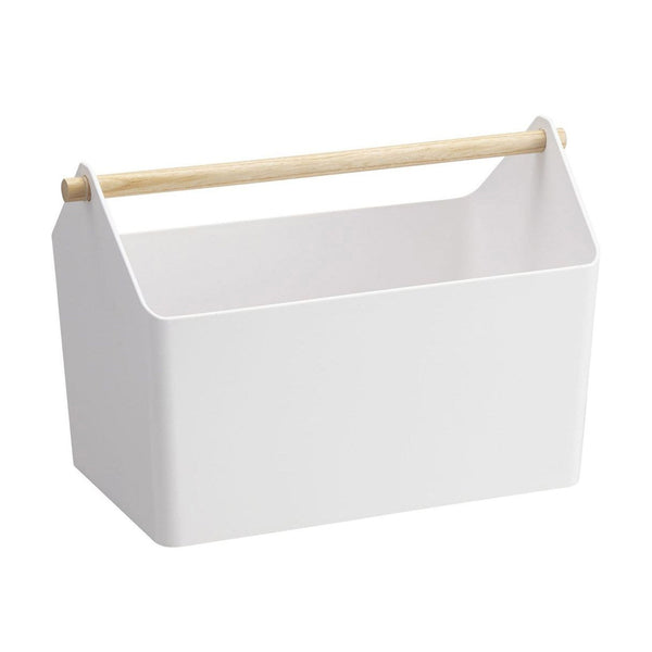 Tosca Storage Box - White - Yamazaki - Shop Online - Paper Plane - NZ Stockist