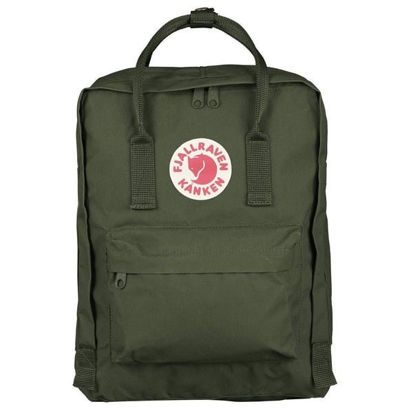 Paper-Plane--Fjallraven---Kanken-Backpack---Forest-Green---$160NZD