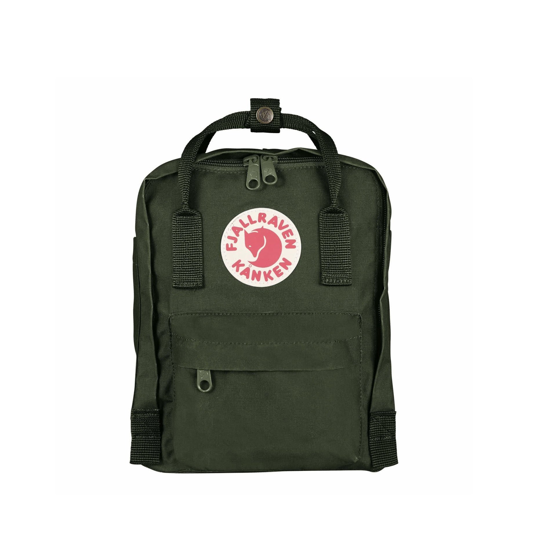Paper-Plane--Fjallraven---Kanken-Mini-Backpack---Forest-Green---$135NZD