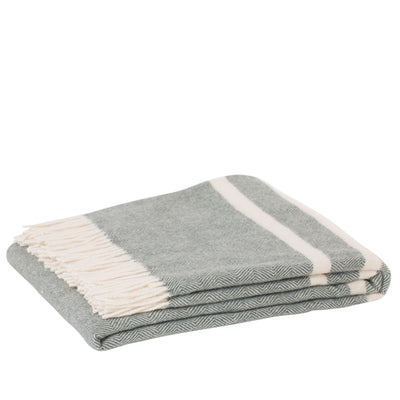 Lambswool Throw - Raglan Forest