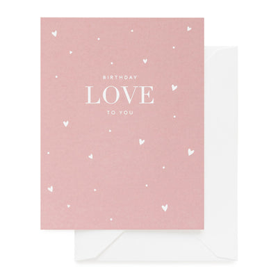 Paper Plane - Sugar Paper - Birthday Love To You - $9NZD