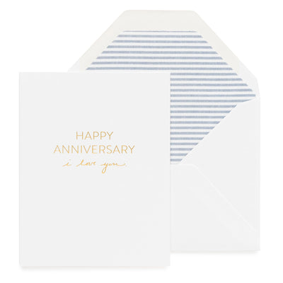Paper Plane - Sugar Paper - Anniversary, I Love You - $9NZD