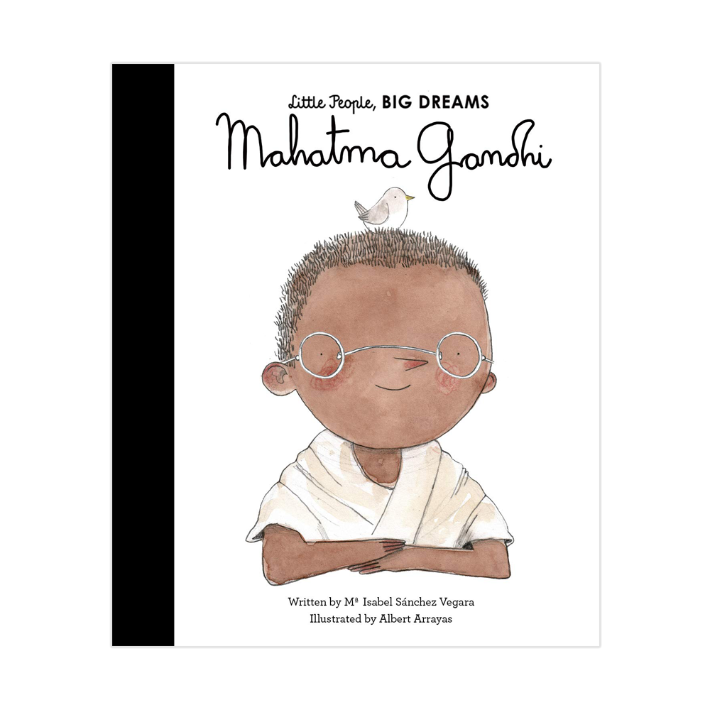 Mahatma Gandhi - Little People Big Dreams - Kids Book - Paper Plane - Shop Online Now