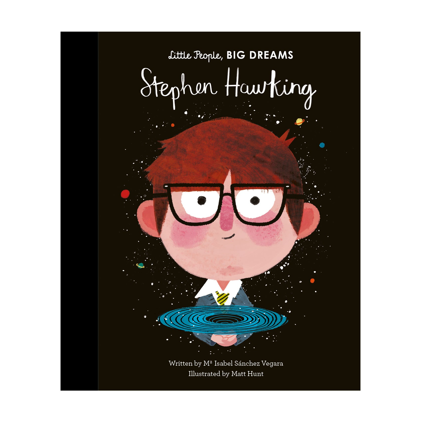 Stephen Hawking - Little People Big Dreams - Kids Book - Paper Plane - Gifts - NZ Stockist
