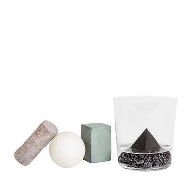 Areaware Drink Rocks - Shapes - Paper Plane - NZ Stockist - Shop Online - Whiskey Stones