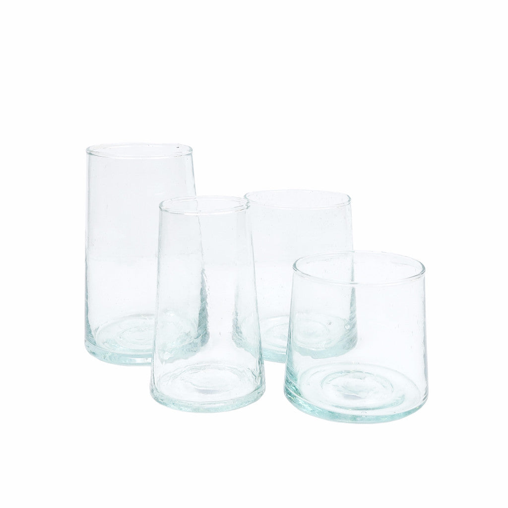 Beldi Wine Glasses - Moroccan Glass - NZ Stockist